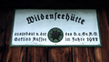 Wildenseehuette sign Totes Gebirge Austria.png