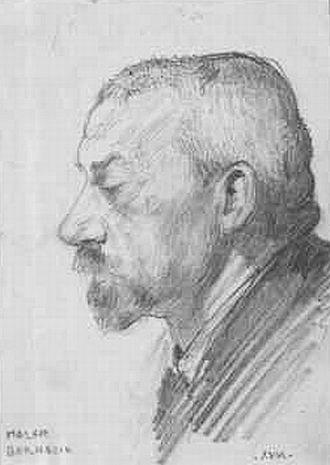 Wilhelm Bernatzik - Self-portrait