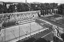 Una pista da hockey a Grosseto a metà del XX secolo