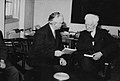 William Beveridge (right), 1947.jpg