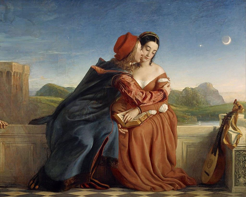 """Francesca da Rimini"" by William Dyce"