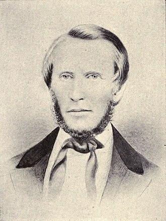 William Harrison Rice - Circa 1856