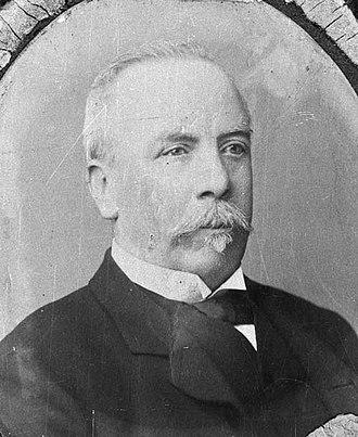 William Larnach - Larnach around 1890.