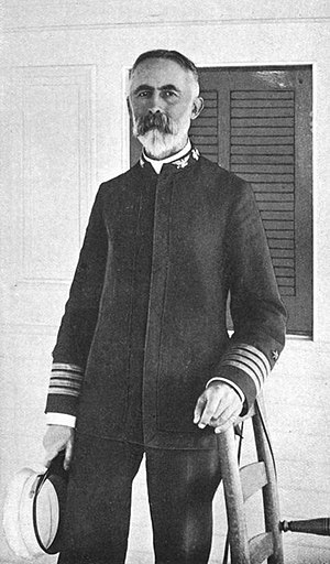 William T. Sampson - Rear Admiral William T. Sampson, from p. 73 of Cannon and Camera by John C. Hemment