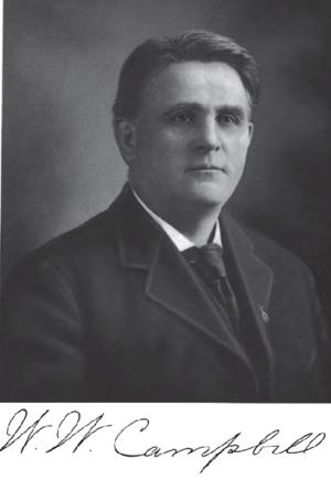 William Wildman Campbell - Image: William W. Campbell