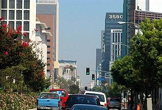 Wilshire Boulevard - Wilshire Boulevard in Koreatown