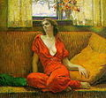 Wilson Henry Irvine Lady in Red 1932.jpg
