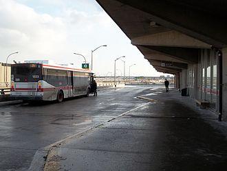 Wilson station (Toronto) - Wilson station bus terminal