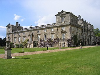 Wilton House; the location of a possible early staging of As You Like It.