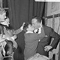 Wim Kan op oudejaarsavond voor radio, Wim Kan en Corry Vonk, Bestanddeelnr 915-8888.jpg