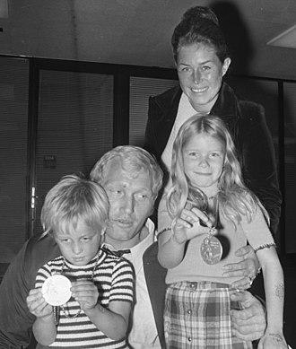 Wim Ruska - Image: Wim Ruska with family 1972