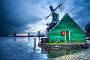 Zaanse Schans - Windmills of Zaanse Schans.