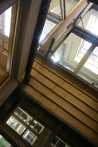Winchester Mystery House - Windows inside the house