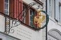 Wirtshausschild des Gasthaus Adler in Willisau LU.jpg