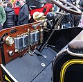 Wolseley 1903 10 HP Tonneau Dashboard at Regent Street Motor Show 2015 (23931914451).jpg