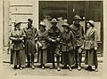 Women and men in uniform, circa 1917 (4863356607).jpg
