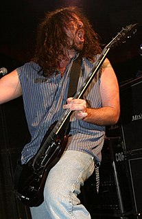 Woody Weatherman American guitarist