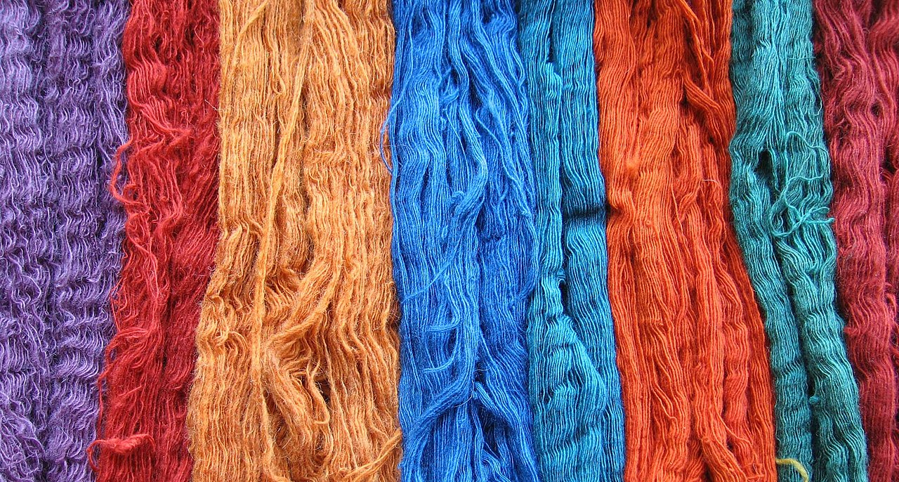 Dying Cotton Yarn With Natural Products