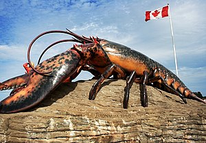 Shediac - Lobster sculpture