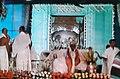 Worshipping of Dr. Mahanambrata Brahmachariji's idol Mahanam Angan, Kolkata.jpg