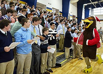 Xaverian Brothers High School - XBHS Christmas Service