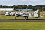 XH558 Avro Vulcan (21160388050).jpg