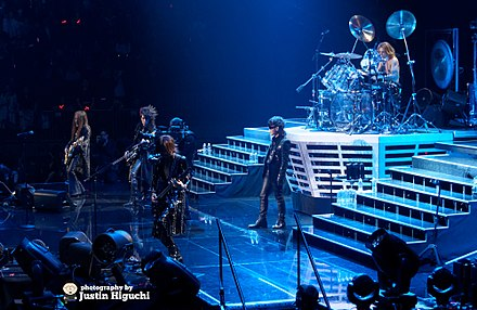 X Japan at Madison Square Garden in 2014 X Japan 10-11-2014 -4 (14934319143).jpg