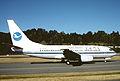 Xiamen Airlines Boeing 737-75C; B-2998, August 1998 BWR (5288384707).jpg