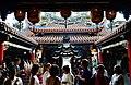 Xingang Fengtian Temple Innenhof 2.jpg