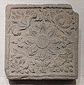 Xixia Tomb 3 brick with lotus design.jpg