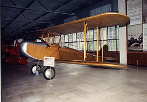 Yakovlev AIR-1 - The AIR-1 at the Yakovlev Museum in Moscow
