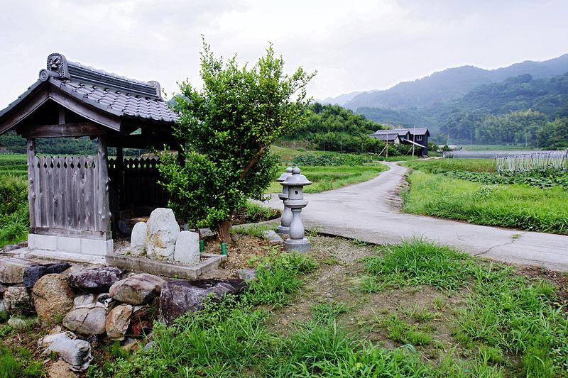 山の辺の道(奈良県天理市)