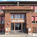 Yankton Sacred Heart School W entrance 1.JPG