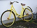 Yellow bike, Craft Centre Spiddal-An Spideal - geograph.org.uk - 1261168.jpg