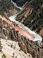 Yellowstone River (Grand Canyon of the Yellowstone, Wyoming, USA) 41 (40723171403).jpg