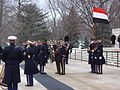 Yemeni Chief of Staff honours at the tomb of unkown soldier.jpg