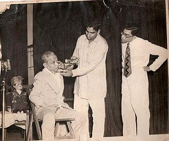 Y. K. Padhye - Y. K. Padhye performing Magic