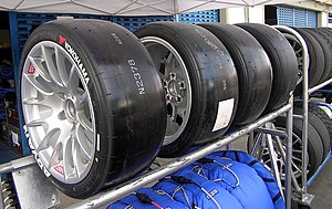 Polybutadiene - About 70% of the produced polybutadiene is used in tire manufacturing
