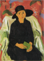 YorozuTetsugorō-1923-A Girl(Tomiko in School Uniform).png