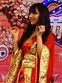 Yua Mikami on Taiwan Pavilion stage, Taipei Game Show 20180127e.jpg