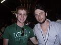 Zach Braff Direct with Fan.JPG