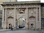 Porta Terraferma mit dem Markuslöwen in Zadar