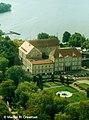 Zamek w Szczecinku - widok ogólny od strony skrzydła północnego (1998).jpg