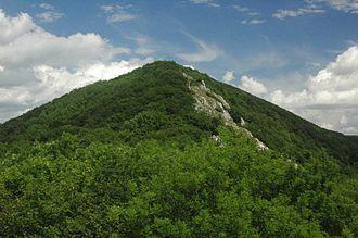 Záruby - Image: Zaruby peak
