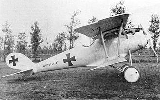 Pfalz D.III - Pfalz D.III (serial 4114/17) of Marine Feld Jasta II