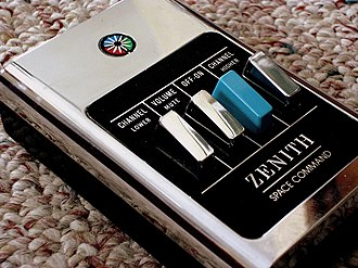 Zenith Electronics - A Zenith Space Command 600 remote control.