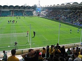 MŠK Žilina - MŠK Žilina take on ŠK Slovan Bratislava in May 2009