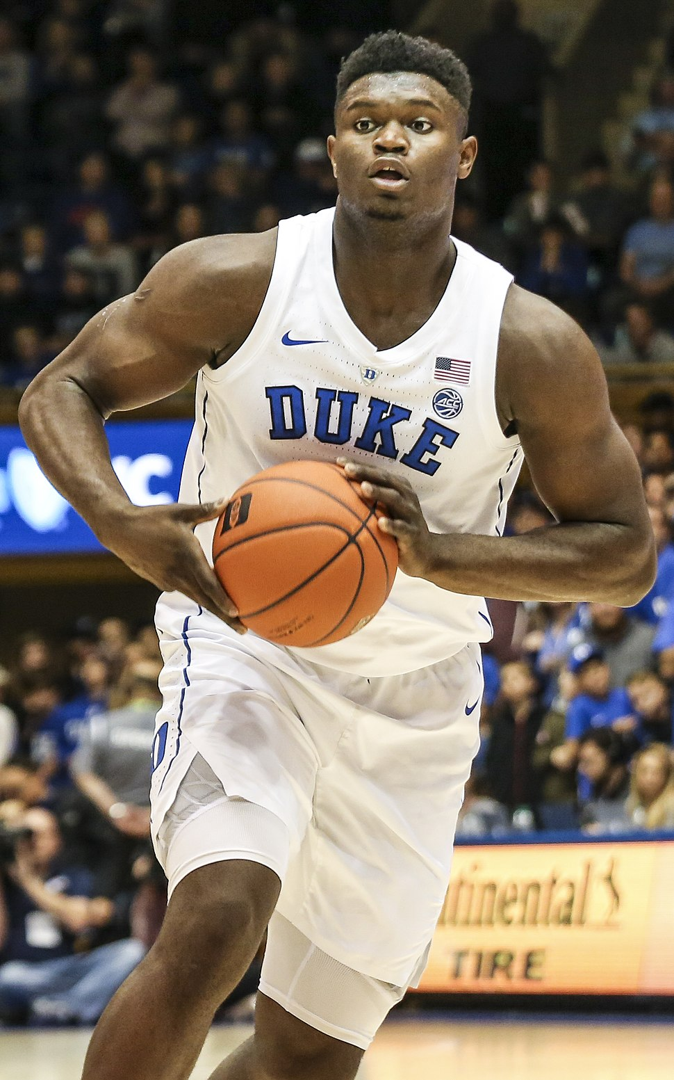 Zion Williamson Duke (cropped)