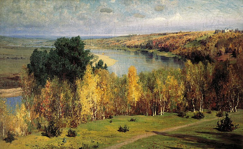 File:Zolotaja osen by Vasiliy Polenov.jpg