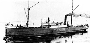 Oil tanker - Zoroaster, the world's first tanker, delivered to the Nobel brothers in Russia.
